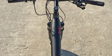 Specialized Turbo X Top Tube Handlebar Display