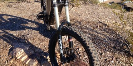 Stealth Bomber Double Crown Fork Suspension