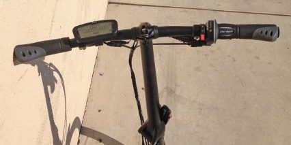 Tern Link D8 With Bionx Display Throttle
