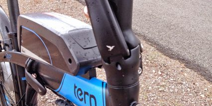 Tern Node D8 With Bionx Stem Fold Lock