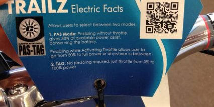 Trailz Ebike Facts