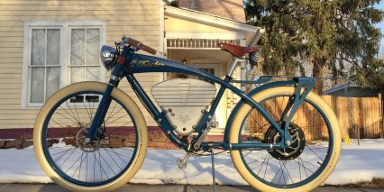 Vintage Electric Bikes E Tracker