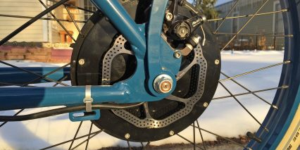 Vintage Electric E Tracker 160 Mm Avid Bb7 Brake