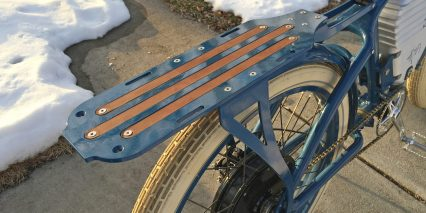 Vintage Electric E Tracker Integrated Carry Rack