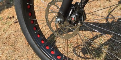 Voltbike Yukon Double Walled Rims Disc Brakes