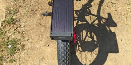 2015 Pedego Trail Tracker Aluminum Battery Box