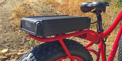 2015 Pedego Trail Tracker Battery Handle Led Charge Indicator