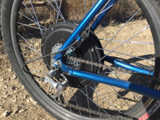Electric Bike Outfitters Front Range Gearless Motor Cassette