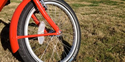 Front Wheel With Fender