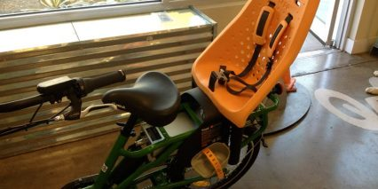 Juiced Cargo Bike Child Seat