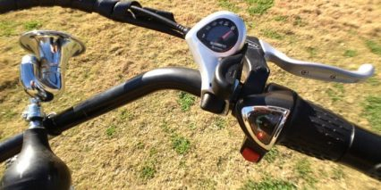 Pedego Tandem Shifters And Throttle