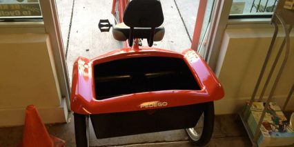 Pedego Trike Fits Doorway