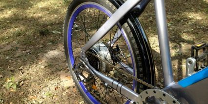 Volton Alation 500 Rear Fender And Chain Ring
