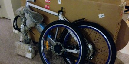 Volton Electric Bike Assembly