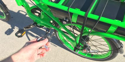 Pedego Latch Folding Keys