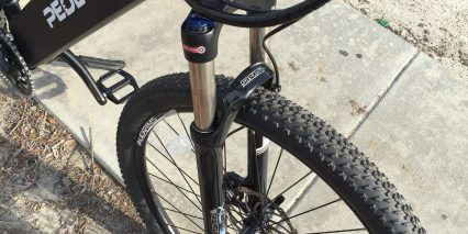Pedego Ridge Rider Sr Suntour Xcr Suspension Fork
