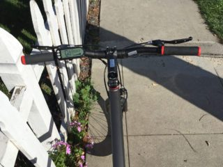 Easy Motion Easygo Race Low Rise Bars Display Grips Brakes