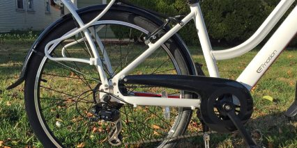 Easy Motion Easygo Street Plastic Chain Guard Rear Carry Rack