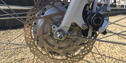 Faraday Cortland 160 Mm Disc Brakes
