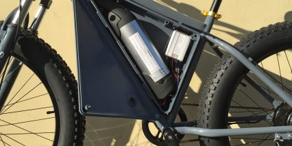 Sondors Fat Bike Battery Box Open Inside