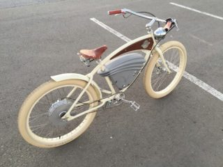 Vintage Electric Bikes Cruz View From Top Fender