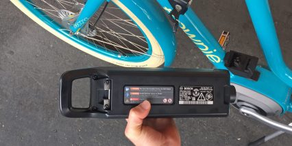 2016 Electra Townie Go Powerpack 400 Battery