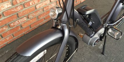 2016 Electra Townie Go Spanninga Integrated Headlight
