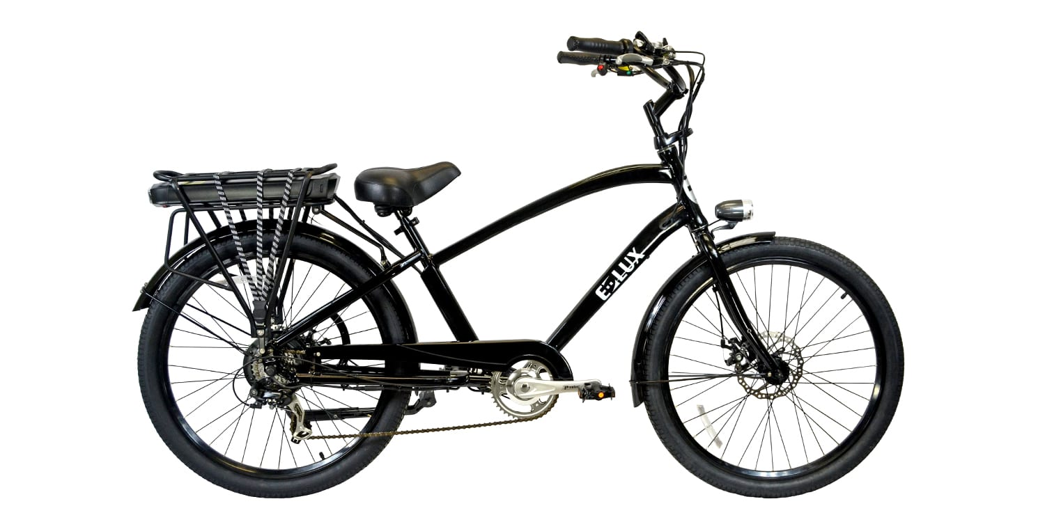 E lux newport review prices specs videos photos for Electric bike motor reviews