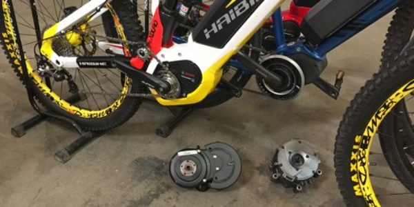 Electric bike guides for Mid motor electric bike