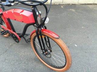 Ariel Rider N Class Custom Springer Fork Cst Maxxis Balloon Tires