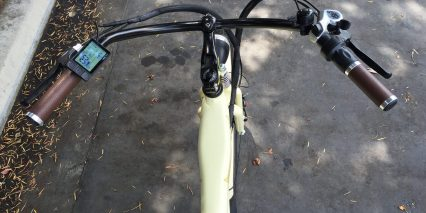Ariel Rider W Class Chopper Bars Custom Locking Grips