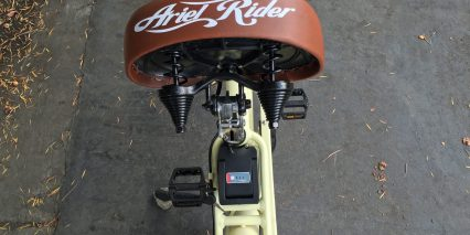 Ariel Rider W Class Flip Up Pivoting Saddle For Battery Removal