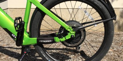 Stromer St1 S Slap Guards 180 Mm Carbon Steel Brake Rotors