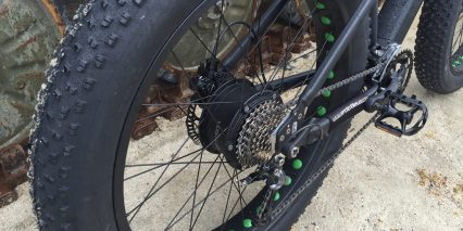 Easy Motion Big Bud Pro Tektro Auriga E Comp Hydraulic Disc Brakes