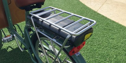 Virtue Cycles Gondoliere Plus Reinforced Battery Rack With Pannier Blockers