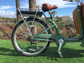 Virtue Cycles Gondoliere Plus Seven Speed Shimano Acera Drivetrain