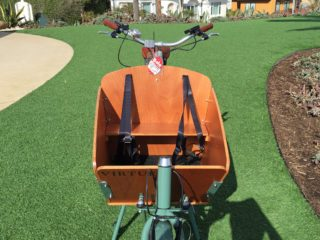 Virtue Cycles Gondoliere Plus Wooden Box Seat And Two Belts For Kids