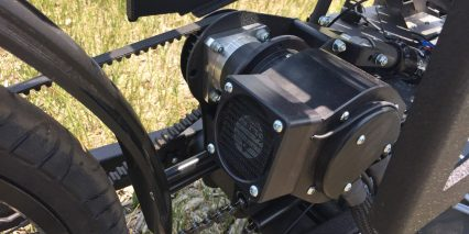 Outrider Alpha 400 Series Astroflight Motor With Custom Cooler