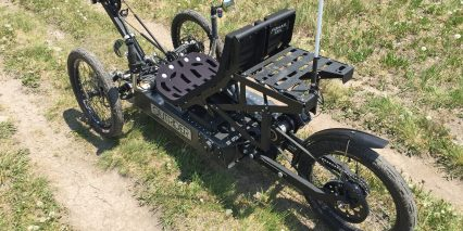 Outrider Nomad 300 Series Custom Rack For Trunk Bag Or Panniers 75 Lb Rated