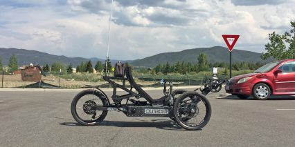 Outrider Nomad 300 Series Electric Recumbent Trike