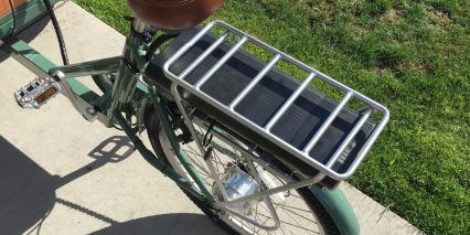 Virtue Cycles Schoolbus Plus Rear Battery Rack 316 Watt Hours
