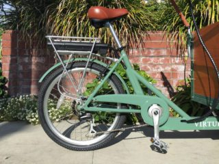 Virtue Cycles Schoolbus Plus Shimano Acera Seven Speed With Matching Chain Guard