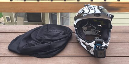 Bell Super 2r Helmet Front With Bag