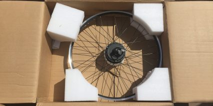 Dillenger Street Legal Ebike Kit Wheel With Hub Motor Boxed