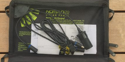 Goal Zero Nomad 20 Mesh Pocket Connector Wires