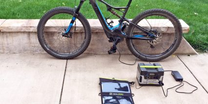 Goal Zero Yeti 400 Solar Generator Kit Electric Bike
