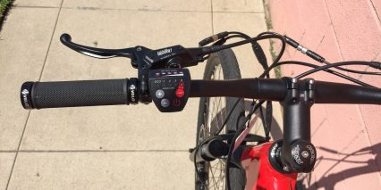 Juiced Bikes Crosscurrent Locking Velo Grips Control Pad