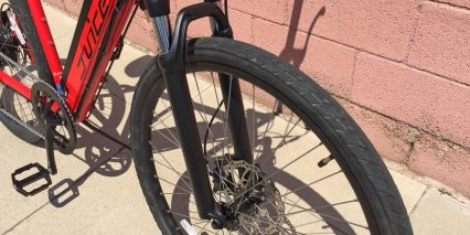 Juiced Bikes Crosscurrent Sr Suntour Suspension Fork Lockout
