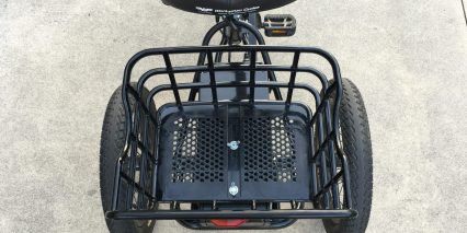 Liberty Trike Electric Tricycle Old Plastic Basket
