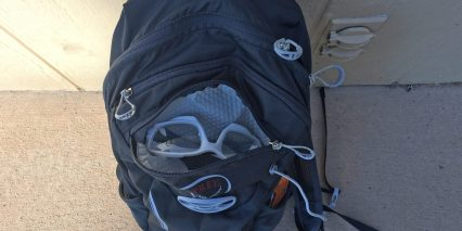 Osprey Syncro 10 Hydration Pack Soft Glasses Compartment